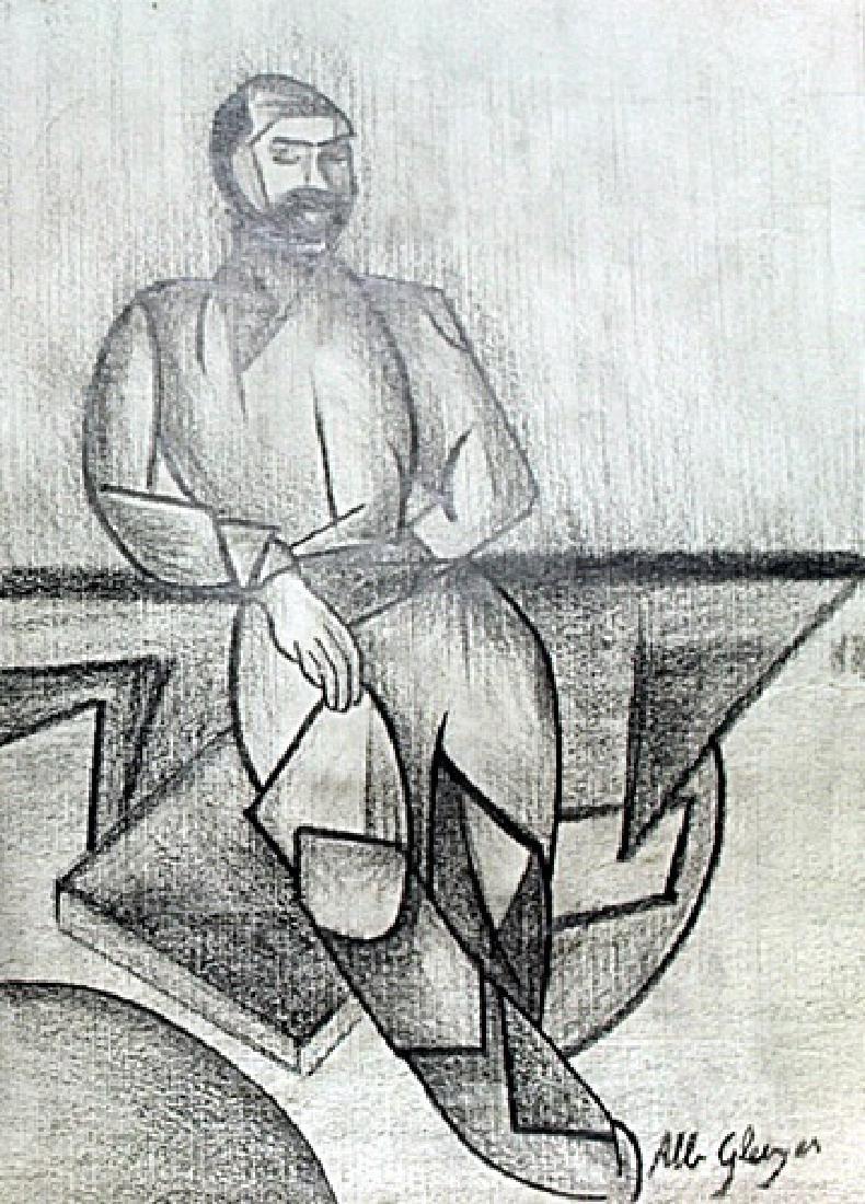 Portrait of a Man - Drawing - Albert Greizes