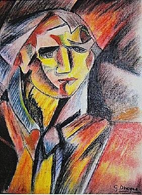 Georges Braque - Portrait of Giulliani