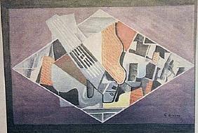 Georges Braque - La Guitare