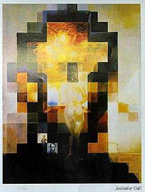 "Print ""Lincoln in Dali Vision"" after Salvador Dali"