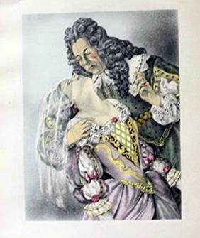 Sleeping Beauty - lithograph -  Legrand