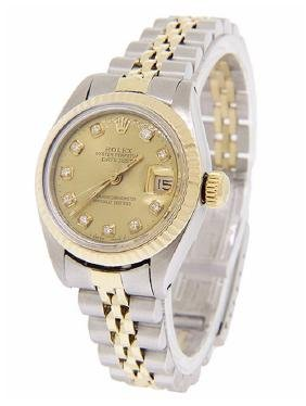 Women's DateJust 14K Gold Rolex