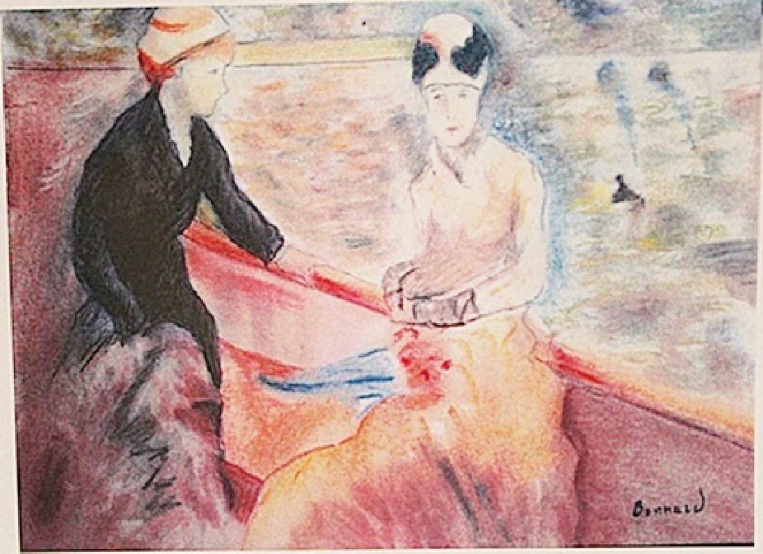 Pierre Bonnard - Ride on the Lake