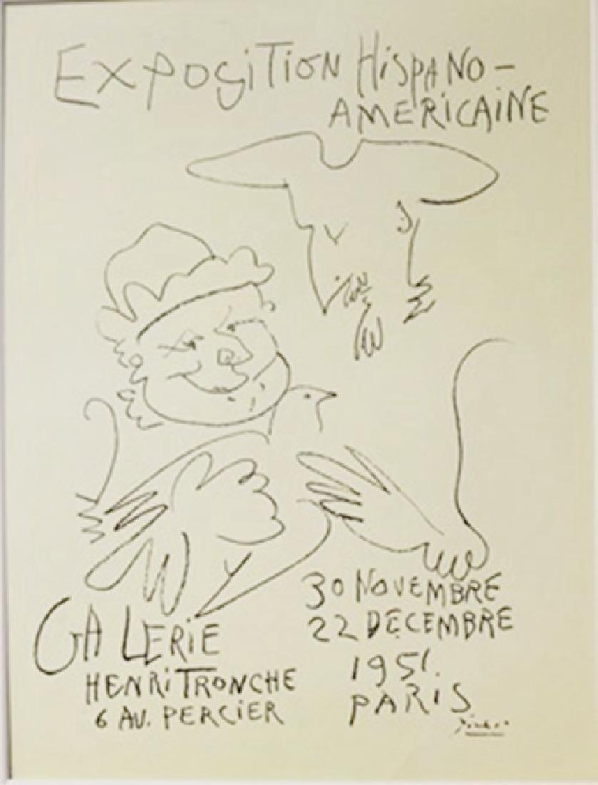 Exposition Hispano-Americaine Lithograph -  Pablo