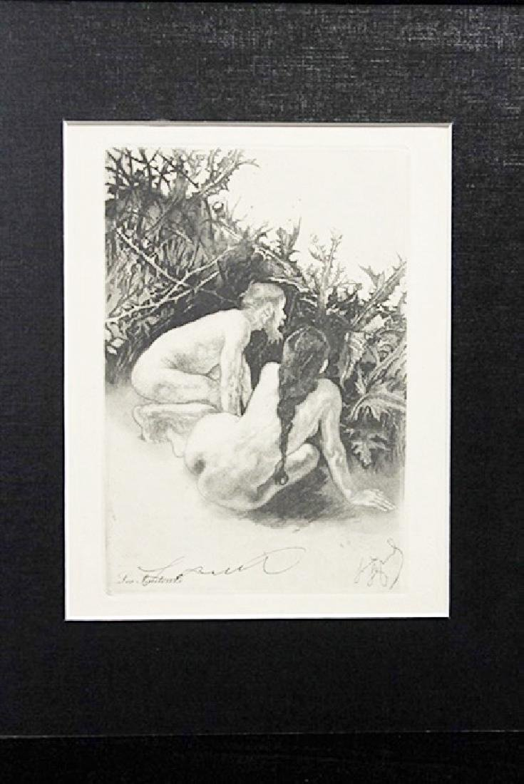Les Fauteurs - Louis Legrand - Original Drawing