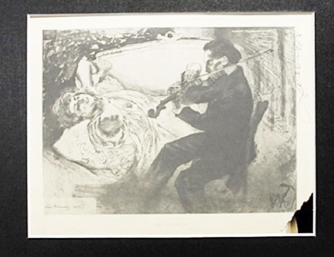 Les Amants - Louis Legrand - Original Drawing