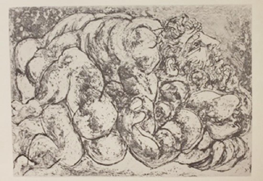 Embrace lithograph -  Picasso (2)