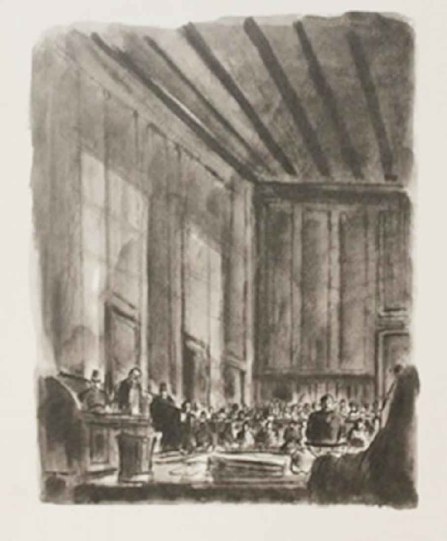 Jury  Decision - Lithgraoph  Lamb
