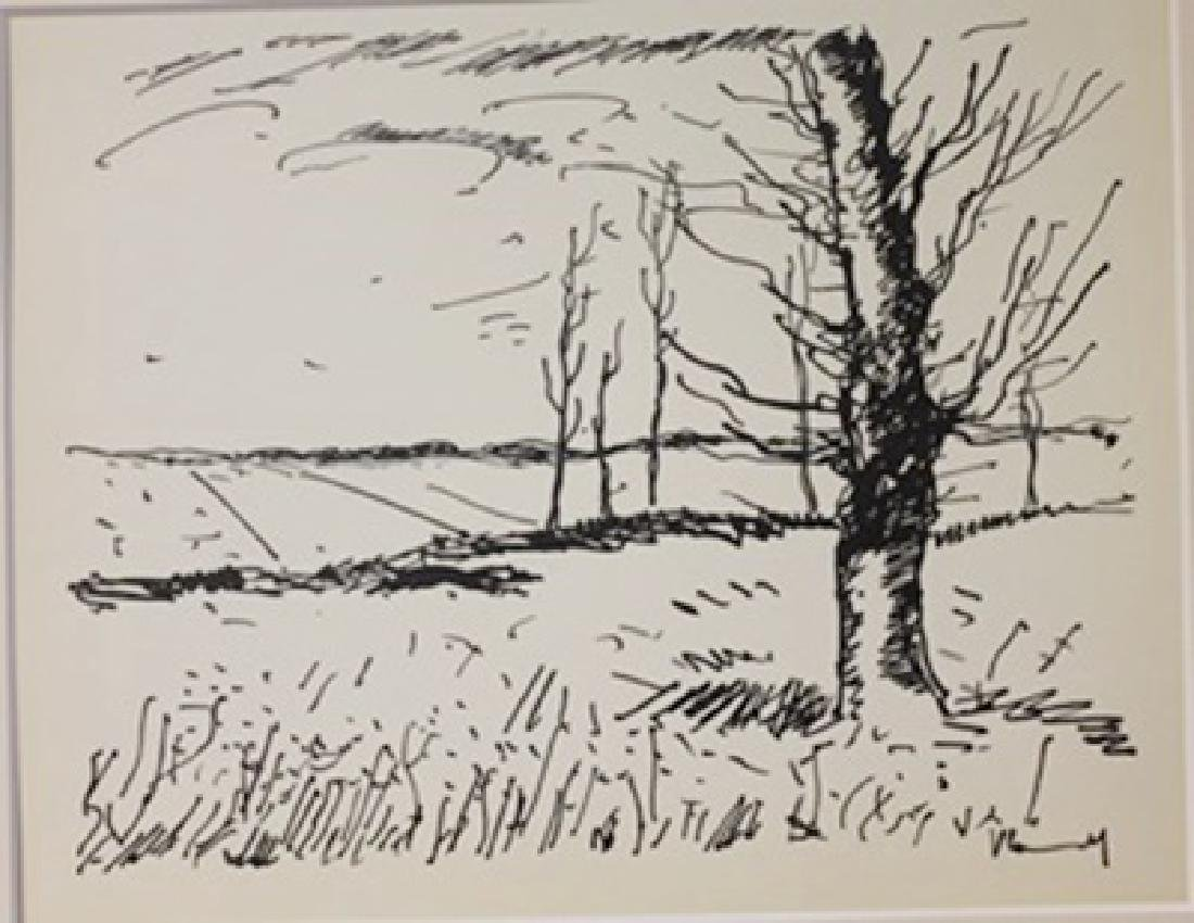 The field - Lithograph  valmark