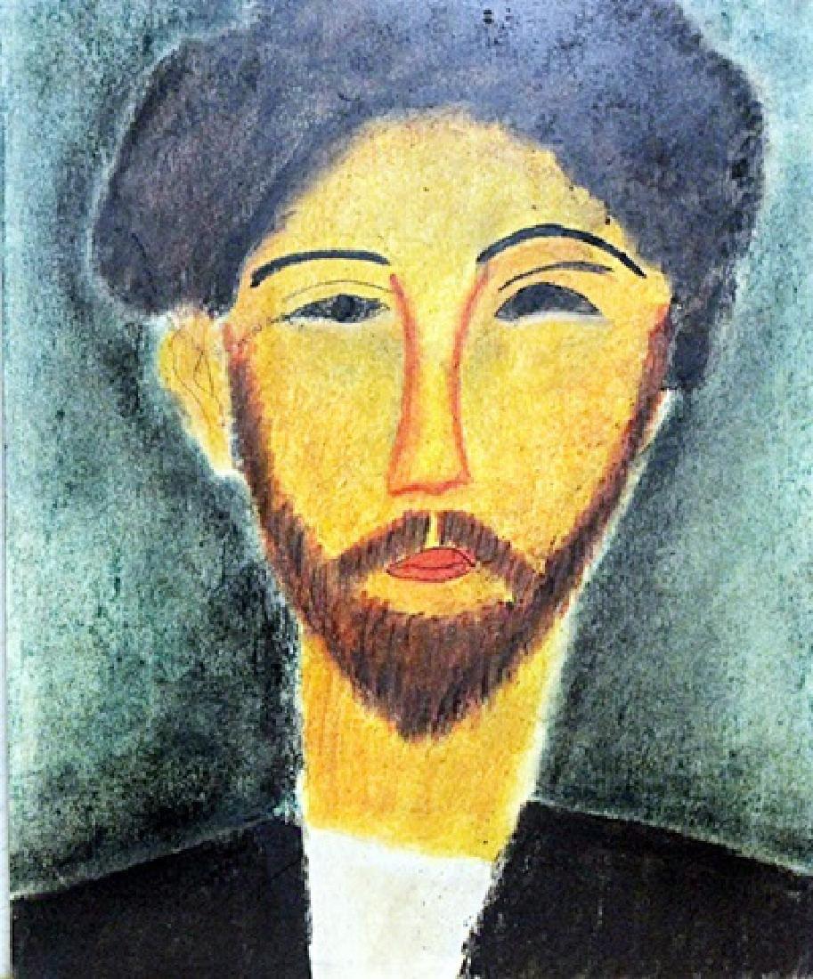 Mr Conrad 1910' - Pastel - Amadeo Modigliani