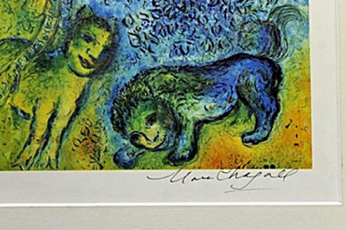 Marc Chagall - Signed Lithograph - 3