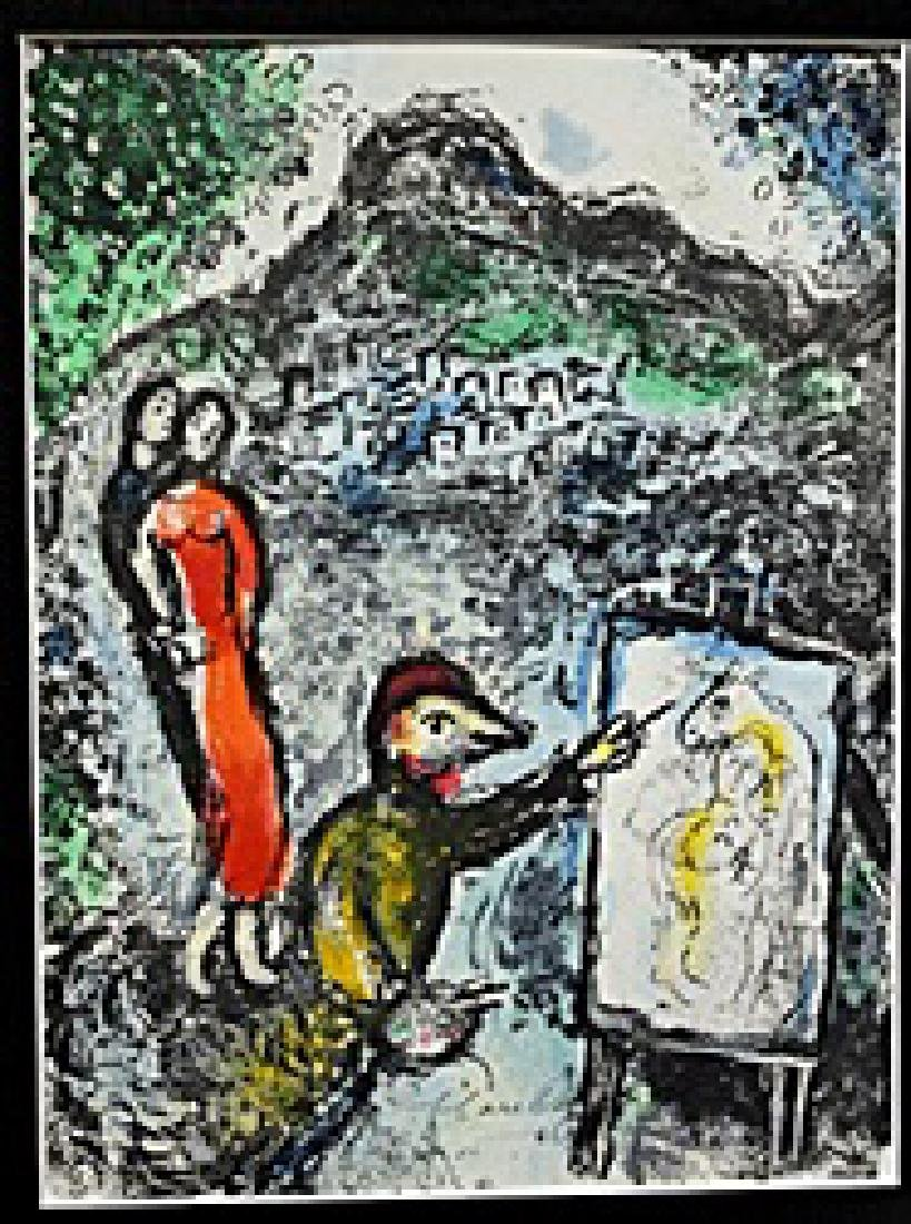 Marc Chagall - Signed Lithograph