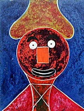 Man With Hate 1946' - Rufino Tamayo