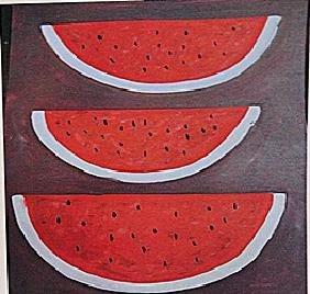 Rufino Tamayo - Three Watermelons