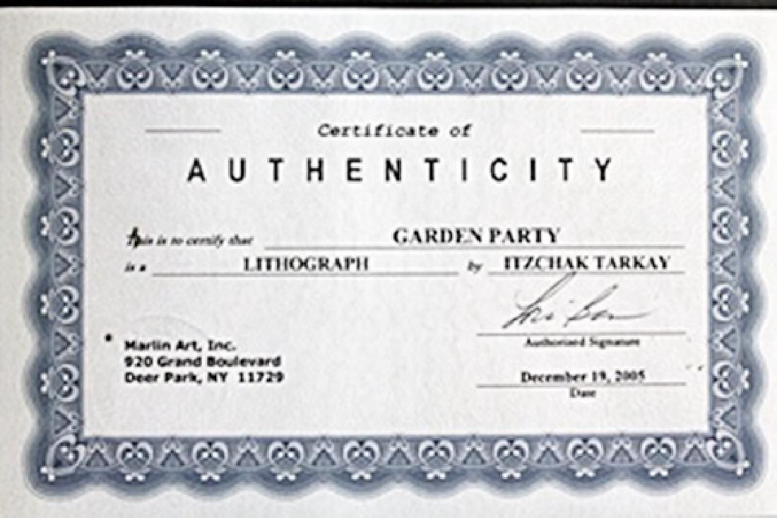 Garden Party - Lithograph - Itzchak Tarkay - 3