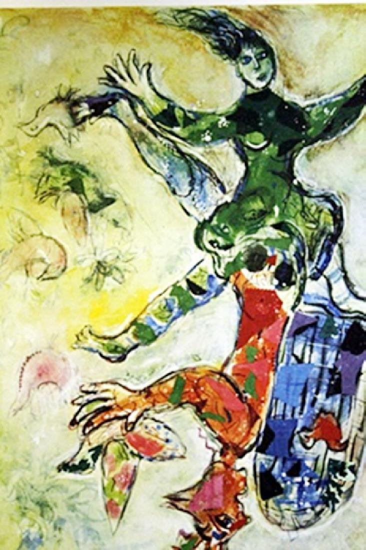 Marc Chagall - Signed Lithograph - 2