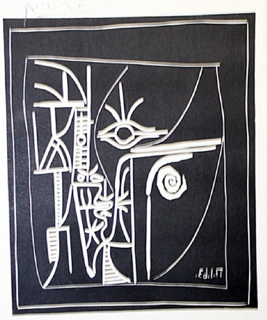 Signed Pablo Picasso - Drawing