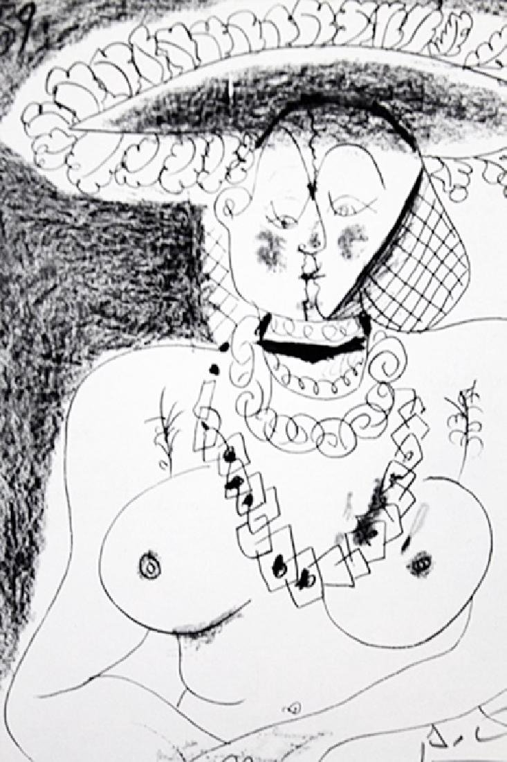 Signed Pablo Picasso - Drawing - 2
