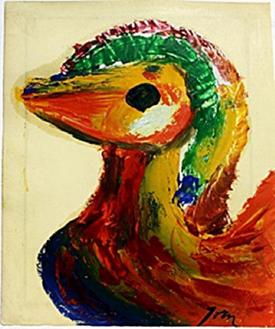 The Bird 1950' - Asger Jorn