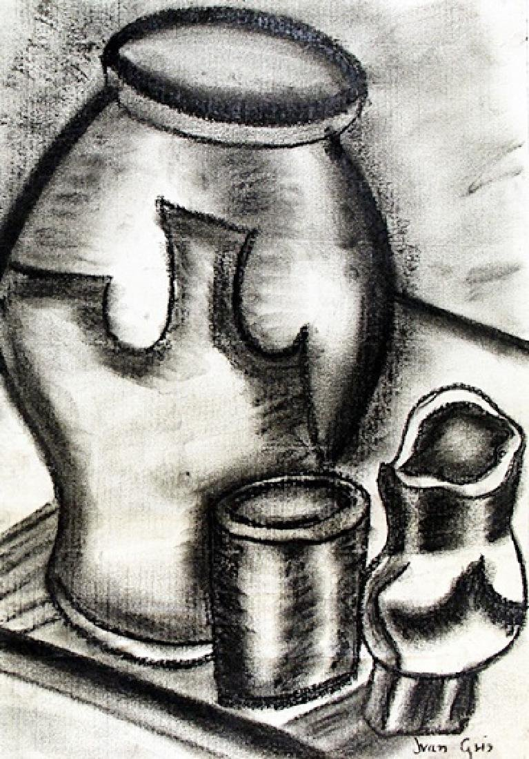 Still Life 1905' - Drawing - Juan Gris