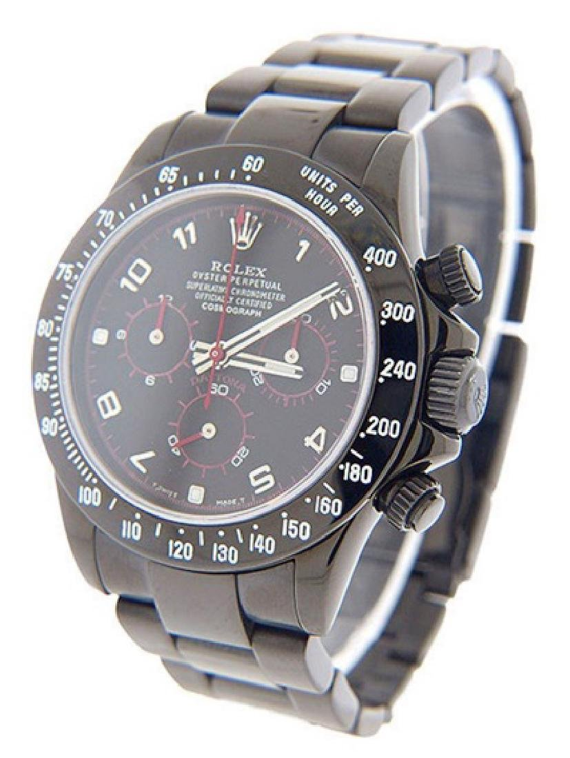 Men's Daytona PVD/DLC Rolex Watch