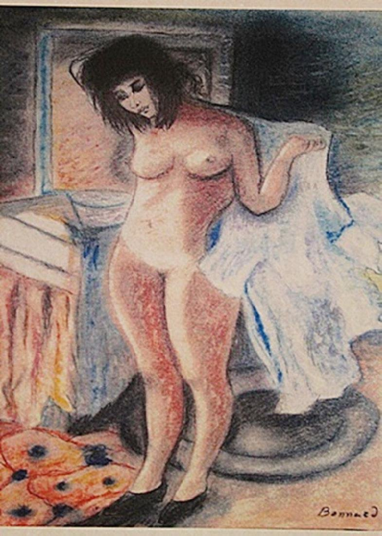 Pierre Bonnard - Naked in Bathtub