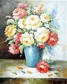 Flower Vase - Giclee