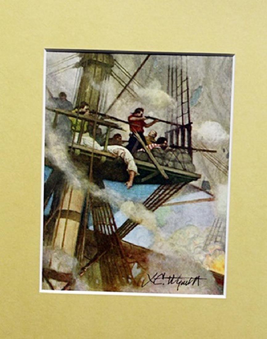 N.C Wyeth - Lithograph
