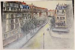 Maurice Utrillo - Street Of Paris