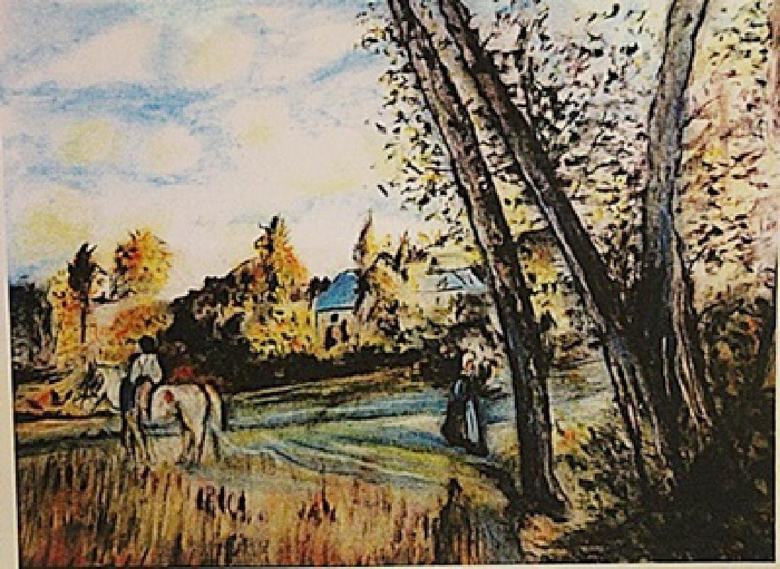 Frederic Bazille - View of the Village