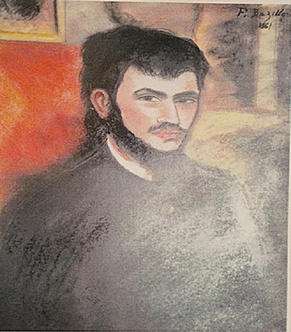 Frederic Bazille - Self Portrait