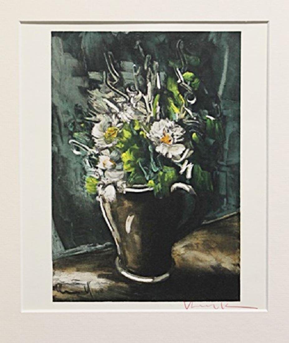 Flowers In Cermic Pot - Maurice De Vlaminck -