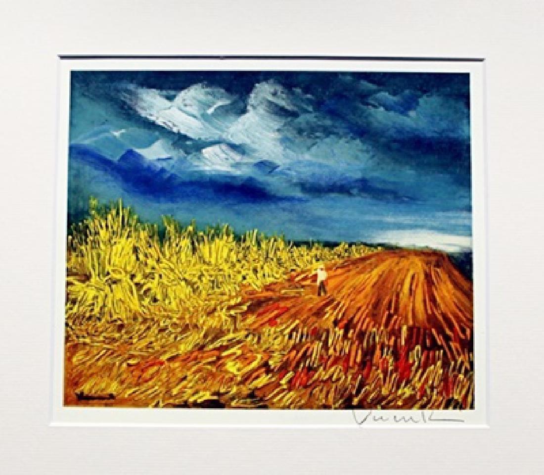 The Harvest - Maurice De Vlaminck - Lithograph