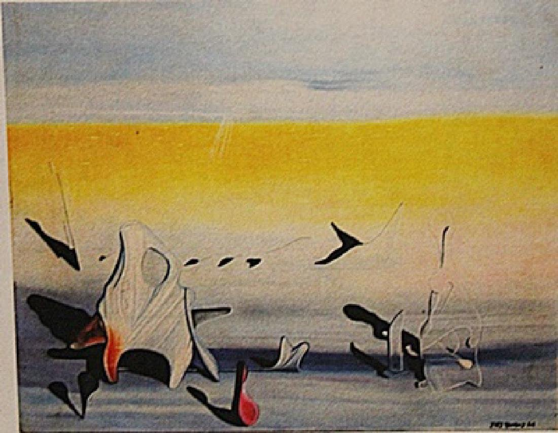 Yves Tanguy - Untitled