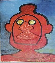 Rufino Tamayo - El Hombre Sin Sombra