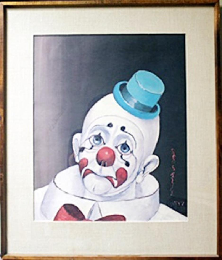 Sad Face Clown - Limited Edition - Red Skelton
