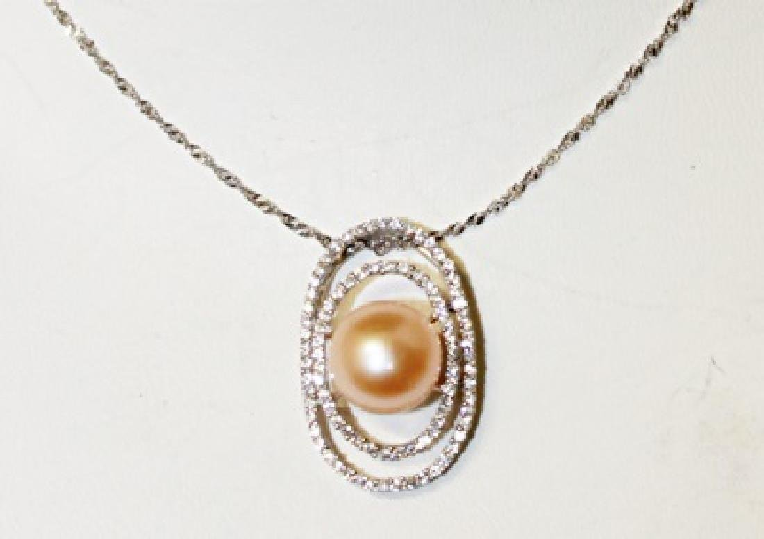 Beautiful Baroque Pearl Necklace
