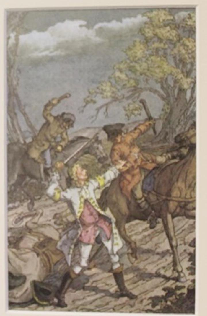 Night Fight - Lithograph -  Cleland