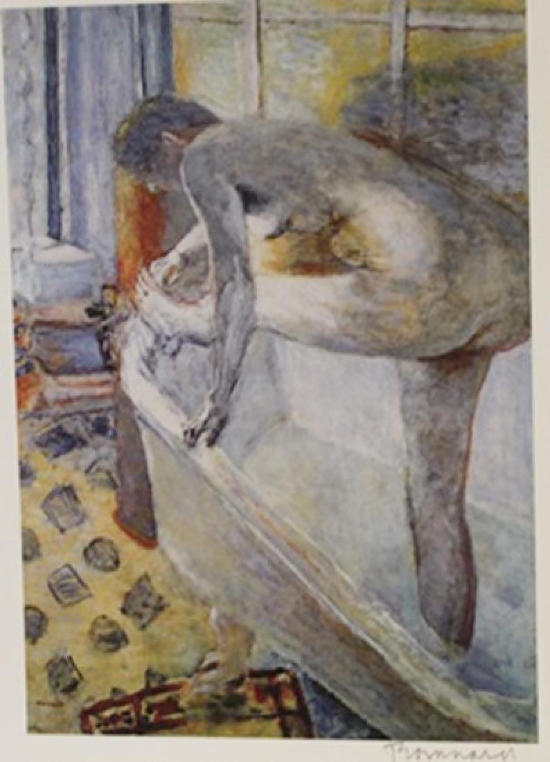 The Bath - Signed Lithograph -  Bonnard
