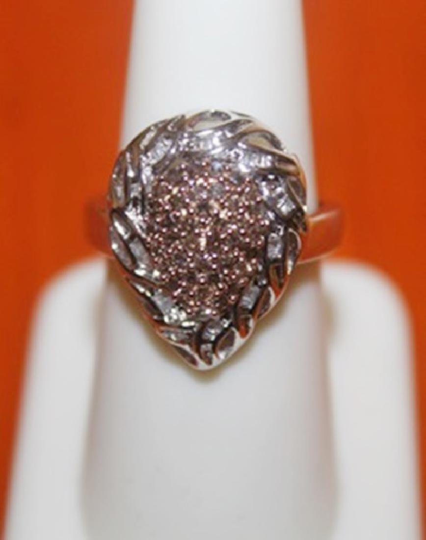 Appealing Champage Diamond Ring