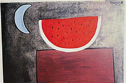 Rufino Tamayo - Watermelon
