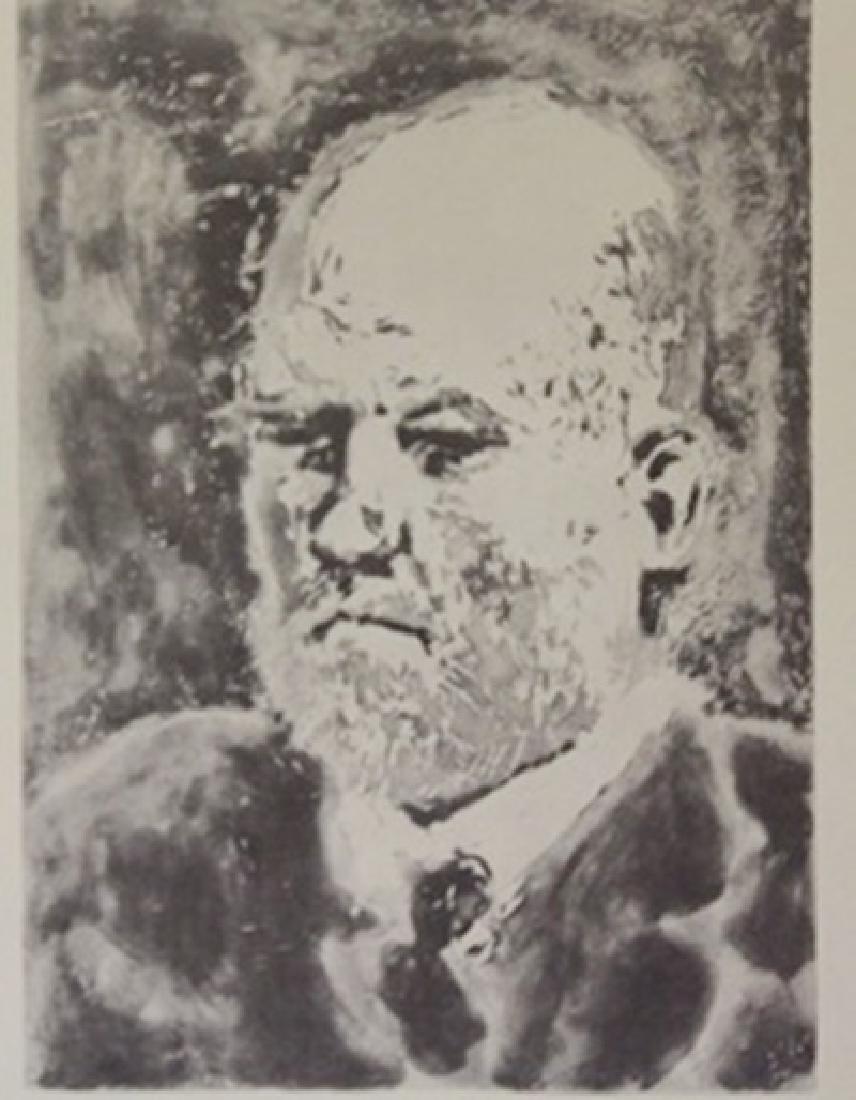 Eldest man - Lithograph -  picasso
