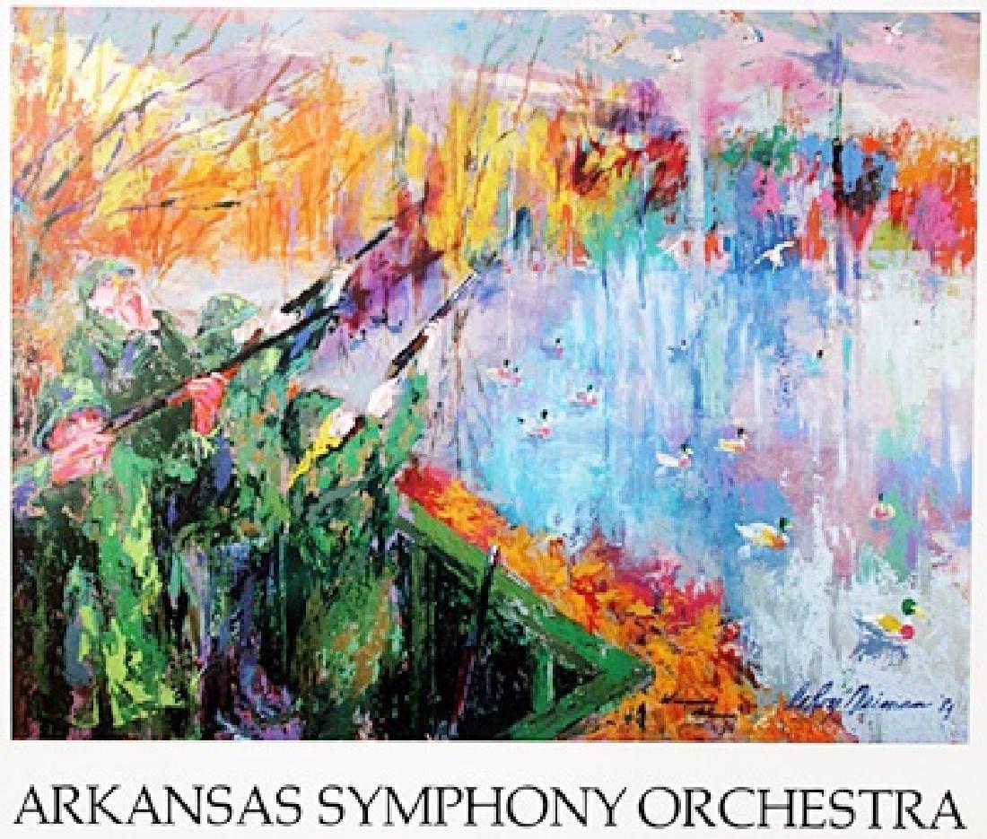"""Print """"Arkansas Symphony Orchestra"""" after Leroy Neiman"""