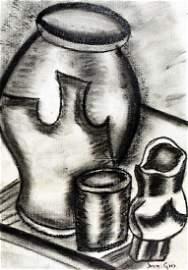 Still Life 1905' - Drawing - Juan Gris