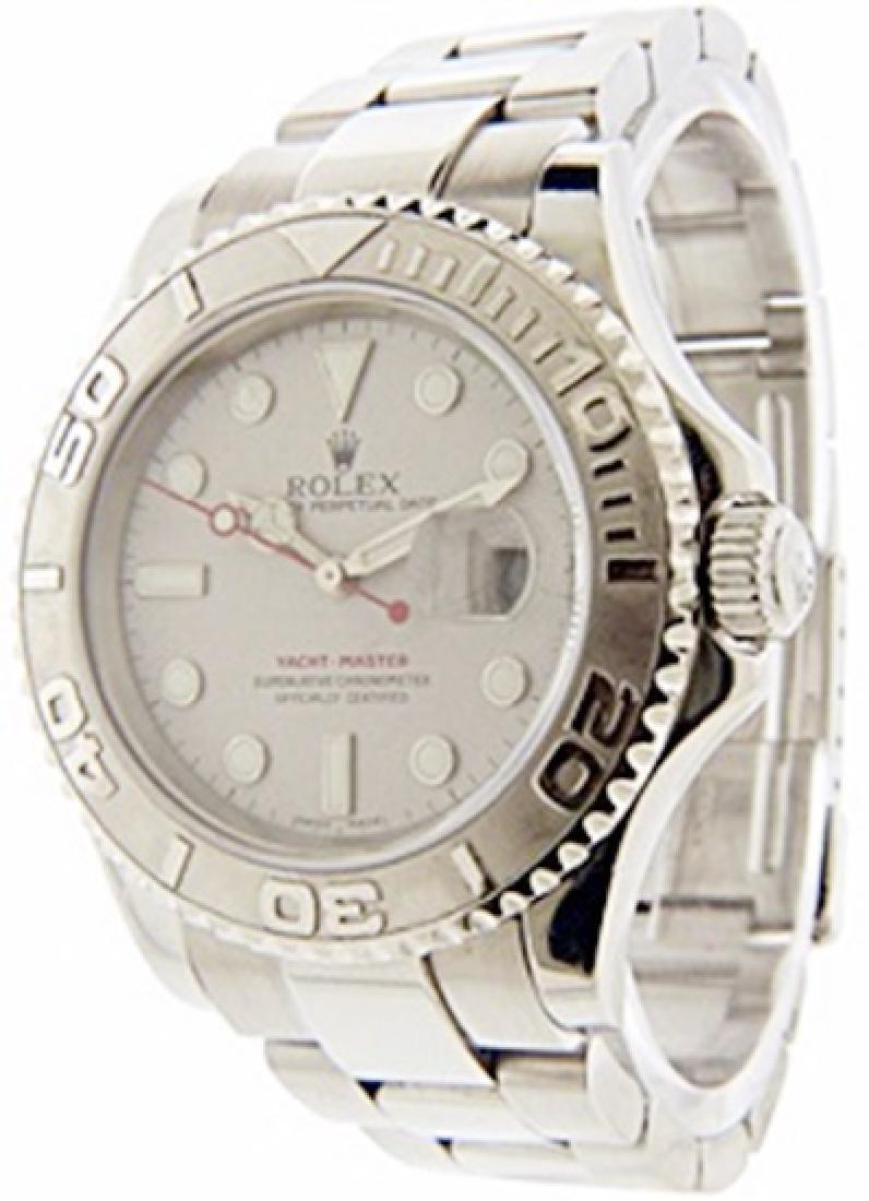 Mens Yacht Master Rolex Watch