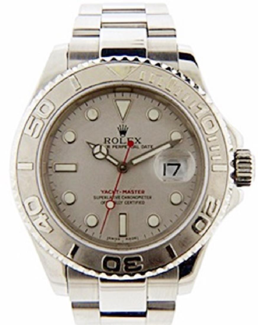 Mens Yacht Master Rolex Watch - 2