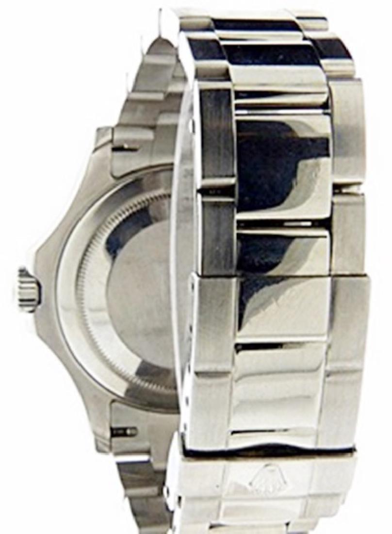 Mens Yacht Master Rolex Watch - 4