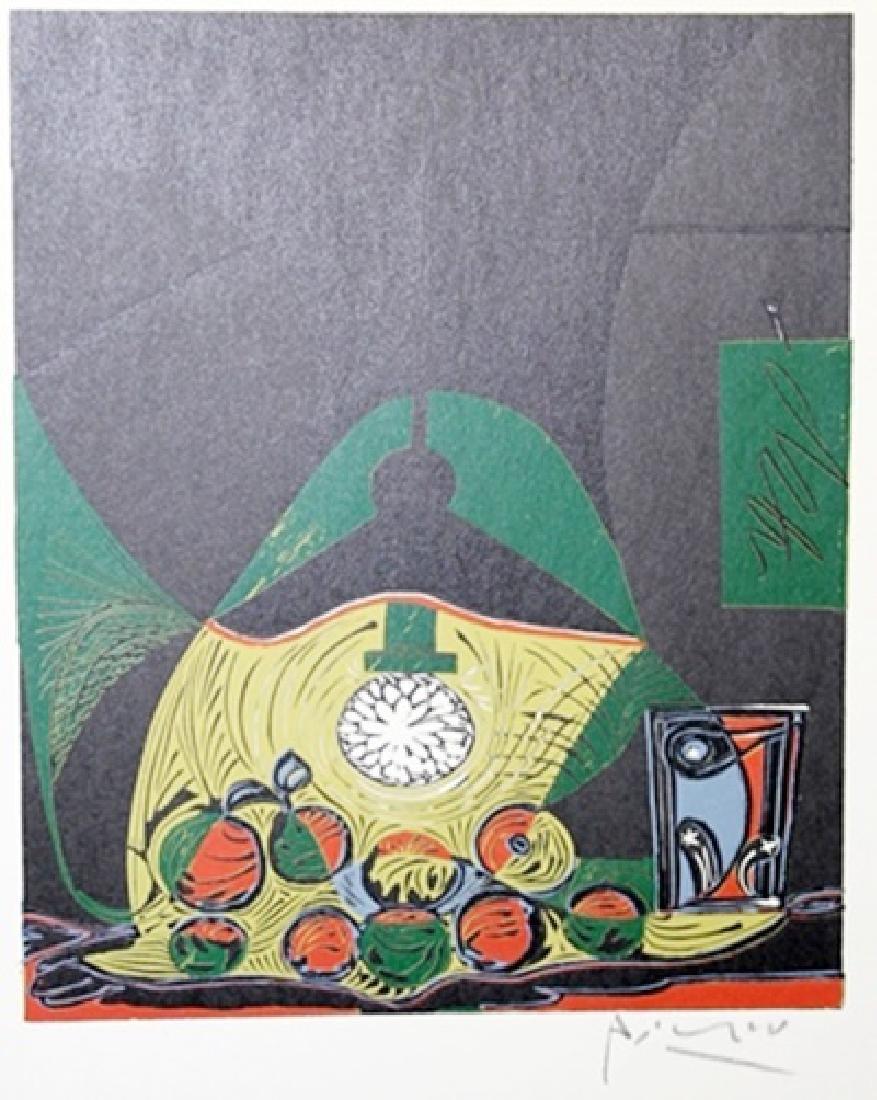 Signed Pablo Picasso - Linocut