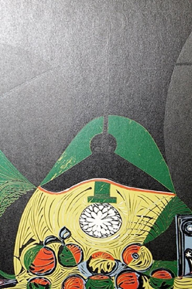 Signed Pablo Picasso - Linocut - 2