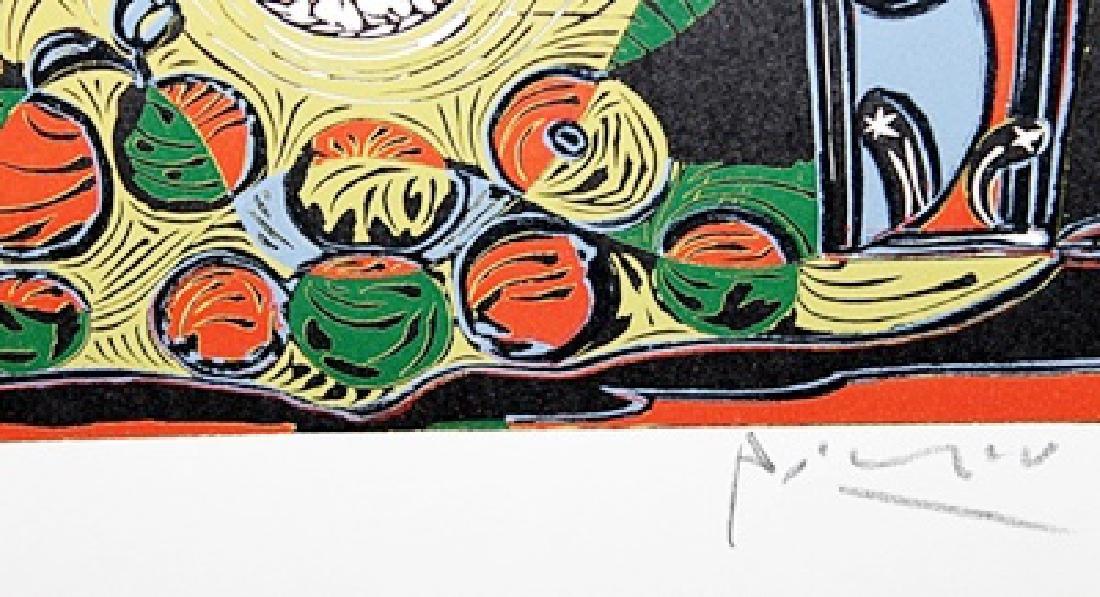 Signed Pablo Picasso - Linocut - 3